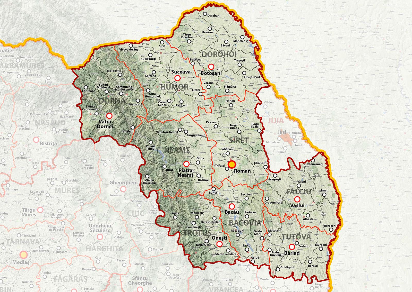 Regiunea Moldova Metrosec Romania