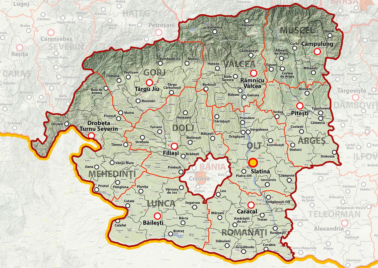 Regiunea Oltenia Metrosec Romania